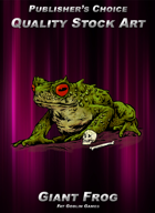 Publisher's Choice - Quality Stock Art: Giant Frog