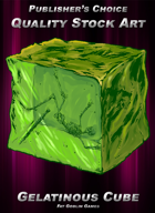 Publisher's Choice - Quality Stock Art: Gelatinous Cube