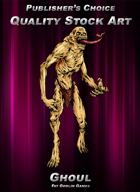 Publisher's Choice - Quality Stock Art: Ghoul