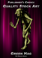 Publisher's Choice - Quality Stock Art: Green Hag