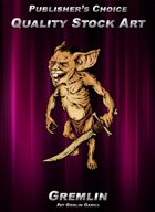 Publisher's Choice - Quality Stock Art: Gremlin