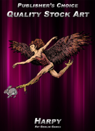 Publisher's Choice - Quality Stock Art: Harpy