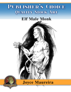 Publisher's Choice - Joyce Maureira - Elf Male Monk