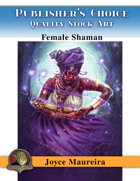 Publisher's Choice - Joyce Maureira - Female Shaman