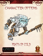 Vathak 5e Character Options - Chilling Feats