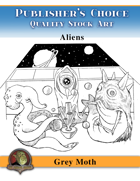 Publisher's Choice - Gray Moth -  Aliens