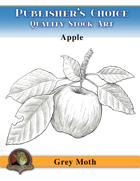 Publisher's Choice - Gray Moth -  Apple