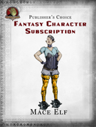 Publisher's Choice - Fantasy Characters:  Mace Elf