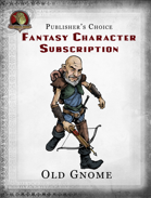 Publisher's Choice - Fantasy Characters:  Old Gnome