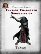 Publisher's Choice - Fantasy Characters:  Tengu