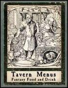 Tavern Menus