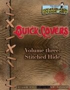 Quick Covers- Vol.3: Stitched Hide