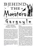 Behind the Monsters: Gargoyle