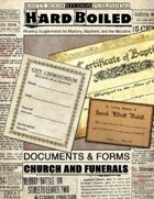 Hard Boiled - Church and Funeral Documents