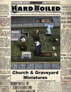 Hard Boiled - Church & Graveyard Miniatures