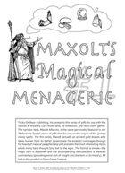 Maxolt's Magical Menagerie #1