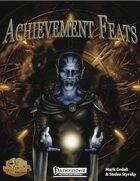 [PFRPG] Achievement Feats