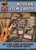 Modern Item Cards
