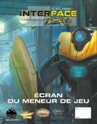Interface Zero 2.0 - Ecran du MJ + feuille de personnage