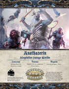 Anathazerïn - adaptation Savage Worlds