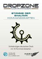 Dropzone Commander Shaltari Kommandokarten
