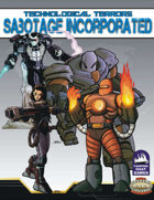 [Savage Worlds] Technological Terrors: Sabotage Incorporated