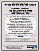 [Sentinels Comics: The RPG] World Defenders: The Summit - Enhanced Edition