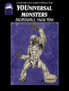 [Savage Worlds] Abominable Snow Man