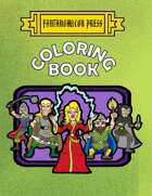 Fantonomicon Press Coloring Book