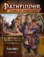 Pathfinder 1ª ed. - Retorno de los Señores de las Runas 3 - Plaga rúnica