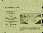 Toys for the Sandbox 23: Pirate Island