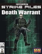 Enemy Strike File: Death Warrant [Mutants and Masterminds 3rd Ed.]