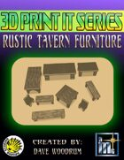 3D Print It: Rustic Tavern Furniture