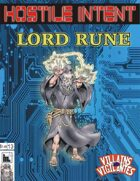 Hostile Intent: Lord rune