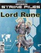 Enemy Strike File: Lord Rune