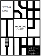 Mapping Cards - Egyptian Tomb