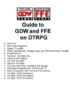 Guide Checklist to GDW RPG Titles