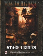 T2013- Stage I Rules