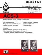 CT-F ACS-3 FASA Adventure Class Ships, Volume 3- For Traveller