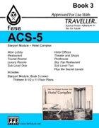 CT-F ACS-5 FASA Starport Module 1- Hotel Complex- For Traveller
