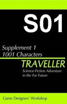 Classic Traveller-CT-S01- 1001 Characters