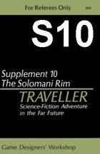Classic Traveller-CT-S10-The Solomani Rim