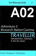 Classic Traveller-CT-A02-Research Station Gamma