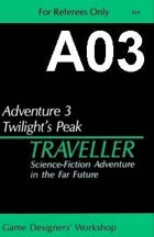 Classic Traveller-CT-A03-Twilight's Peak