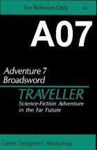Classic Traveller-CT-A07-Broadsword