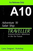 Classic Traveller-CT-A10-Safari Ship