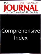 Index to the Journal of the Travellers' Aid Society