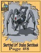 Skortched  Urf' Studios Sketchbook Page #8: Medical Droid #1