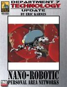 Dept. 7 Technology Update: Nano-Robotic PANs