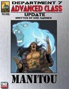 Dept. 7 Adv. Class Update: Manitou